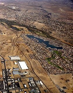 Aerial Image Of Victor Valley